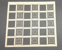 Windows Sheets Laser Cut Scratch Aid Layout Kit OO Gauge 4mm Model Railway IND