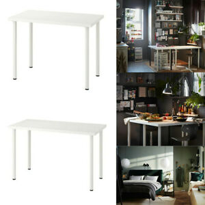 Ikea LINNMON / ADILS Table Top & Legs For Home Office Desk PC Laptop Table White