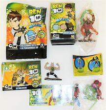 BEN TEN 3 personaggi diversi EDIZIONE GIOCHI PREZIOSI - CARTOON NETWORK 2009-10
