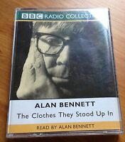 AUDIO BOOK - Alan Bennett - The Clothes They Stood Up In - 2 x Cassettes