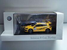 VW Scirocco R-Cup, Dunlop, Spark, gelb, 1:43, Volkswagen