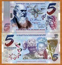 Kamberra, Kingdom, 5 Numismas, 2014, UNC > Darwin > Upgraded Security