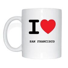 I love SAN FRANCISCO Taza de café