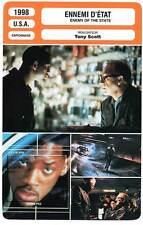 FICHE CINEMA : ENNEMI D'ETAT - Smith,Hackman,Voight,Scott1998 Enemy of the State