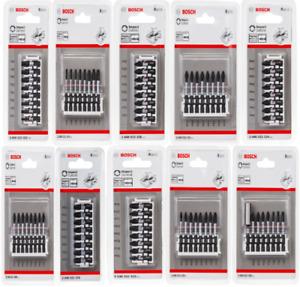 Bosch Impact Screwdriver Insert Bits Torx PZ2 PH2 PZ3 You Choose Bit Set Tip DIY