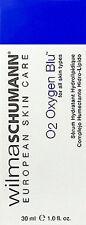Wilma Schumann O2 Oxygen Blue 30ml(1oz) For All Skin Types Brand New