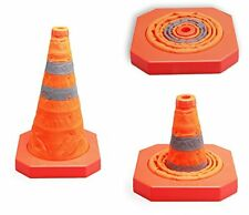 Cartman Collapsible Traffic Safety Cone 15,5 Inches (1pk), New, Free Shipping