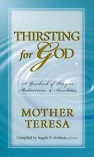 Thirsting for God-Yearbook-Prayers & Meditations Mother Teresa Teresa BRAND NEW