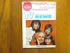 1971 Chicago Daily TV News(WALTER  BRENNAN/JACQUELINE  CHIDSEY/TO ROME WITH LOVE