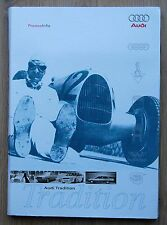 Audi Tradition - Museum mobile Ingolstadt - Press Info Map + CD
