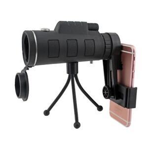 40x60 Monocular Low Light Night Vision Telescope Mobile Phone Spotting Scope