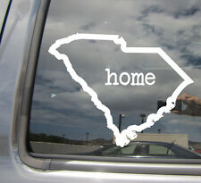 South Carolina Home State Outline - Car Vinyl Die-Cut Decal Sticker 07008
