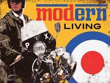 Modern Living Trottinette Cible mod Medium Métal Enseigne mural en acier