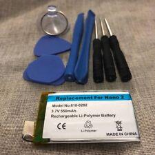 iPod Nano 2nd Gen replacement Battery+Tool Replacement 550mAh