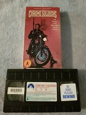 Chrome Soldiers (1992) - Vhs Tape - Action / Drama - Gary Busey - Ray Sharkey