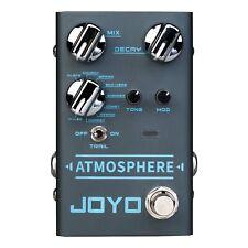 JOYO R14 R Series Atmosphere - Guitar Reverb Effects Pedal 9v Power Supply