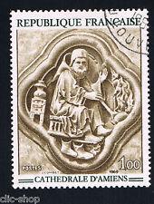 1 FRANCOBOLLO FRANCIA OPERE D'ARTE SCULTURA 1969 usato