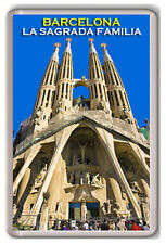 BARCELONA LA SAGRADA FAMILIA FRIDGE MAGNET SOUVENIR NEW
