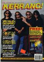 Kerrang! Magazine No 345 Van Halen Kingdom Come Queensryche MBX59