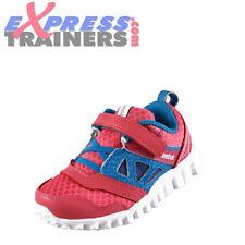 Chaussures roses en synthétique avec attache auto-agrippant pour fille de 2 à 16 ans