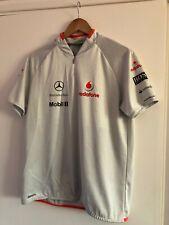 Hugo Boss Vodafone McLaren Mercedes 2009 Team T-shirt Medium M Formula 1 F1 RARE