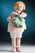 """1988 Bessie Pease Gutmann 12"""" """"Love is Blind"""" porcelain little girl doll"""