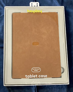 Heyday™ Apple iPad 10.2-inch Faux Suede Case - Tan / Brown -Box NOT Included