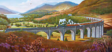 Gibsons - 636 PIECE PANORAMIC JIGSAW PUZZLE - Glenfinnan Viaduct