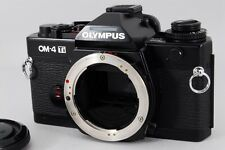 [ MINT !!] Olympus OM-4 Ti Black 35mm SLR Film Camera Body from Japan #11004-004