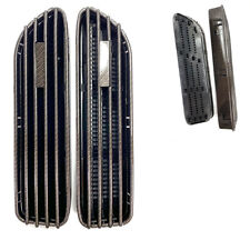 E46 M3 Style Carbon Fiber Look Side Fender Grille Vent Euro Vehicle
