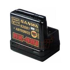 Sanwa 4 Channel 2.4GHz Receiver 1:10 RC Car On Off Road Crawler Drift #RX-481