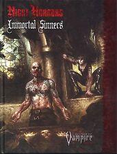 Vampire the Requiem Night Horrors Immortal Sinners Hardcover MINT White Wolf Pub