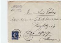 france 1907 stamps cover ref r15833