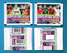 PANINI Road to EURO 2020 | 4 different sealed packets | 2 covers barcode + blanc