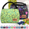 Picnic Travel Tote Women Canvas Large Insulated Thermal Lunch Bag Bento Cooler