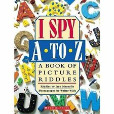 I Spy A To Z: A Book of Picture Riddles-ExLibrary