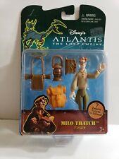 Milo Thatch Atlantis Lost Empire Disney Mattel Toy Action Figure Accessories New