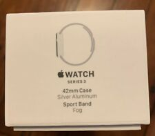 Apple Watch Series 3 Smartwatch - 42mm, Silver Aluminum, GPS Only