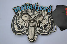 Motorhead Belt Buckle Overkill Licensed Merchandise Thrash Metal