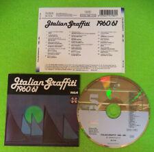 CD Compilation ITALIAN GRAFFITI 1960/1961 Adriano Celentano Marini no mc (C61)