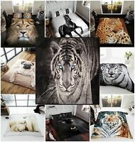 3D Animal Printed Throws Fleece Warm And Cosy Blanket Bed Sofa Doublel King Size