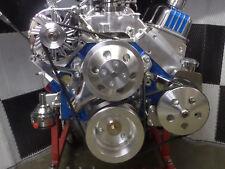 Sbc Turn Key Engine Dress Up Kit Front Accchrm Wp Alt Pulleys Complete Xo38