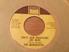 MARVELETTES~THATS HOW HEARTACHES ARE MADE~TAMLA 54186 Vg+