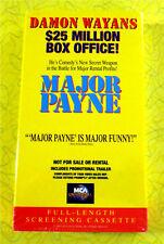 Major Payne ~ New VHS Movie Screener Promo Demo Video ~ 1995 Damon Wayans Comedy