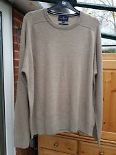 Men's Fab Stone Blue Harbour Jumper, Extrafine Lambswool, Size M (Chest 38/40'')