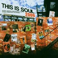 THIS IS SOUL 2006 Various Artists NEW & SEALED SOUL CD (SOUL BROTHER) MODERN