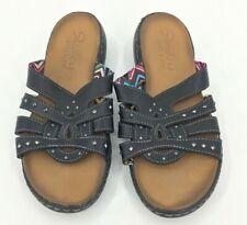 Women's Skechers Luxe Foam Sandals Size 9.5  Rhinestones