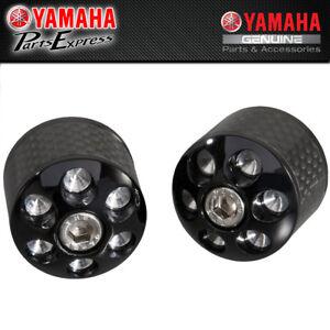 Black KETABAO MSHINE Bar Ends Sliders Logo Pair For Yamaha YZF R1M R1 2015-2019 19 18 17 16 15 YZF R1 2010-2014 13 12