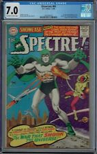 CGC 7.0 SHOWCASE #60 1ST SILVER AGE SPECTRE APPEARANCE 1966
