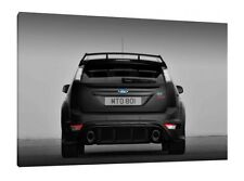 Ford Focus RS 500 - 30x20 Inch Canvas - Framed Picture Poster Print Art
